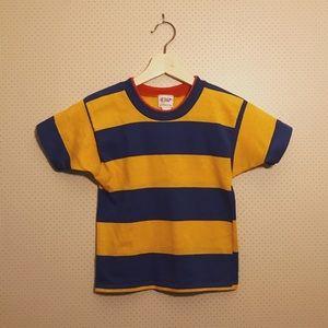Adorable vintage striped crop top!